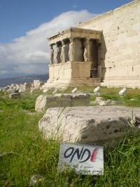 ATENE - ACROPOLI - Tempio delle Cariatidi - 3 DIC. 2009
